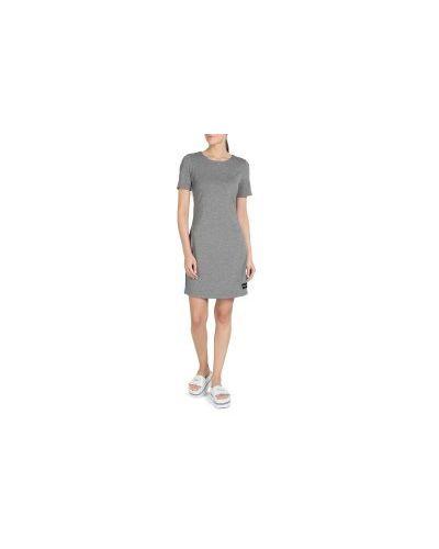 Джинсовое платье серое Calvin Klein Jeans