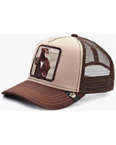 Бейсболка коричневый Goorin Brothers