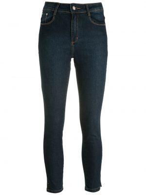 Синие облегающие зауженные джинсы Amapô
