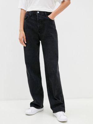 Джинсовые прямые джинсы - черные Calvin Klein Jeans