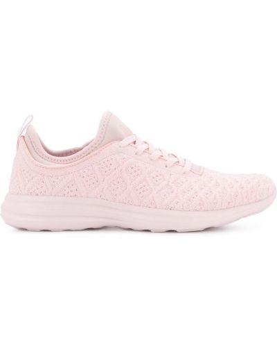 Розовые кроссовки Apl