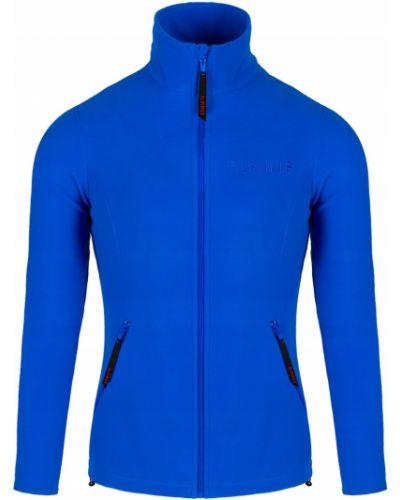 Ciepła niebieska bluza polarowa Alpinus