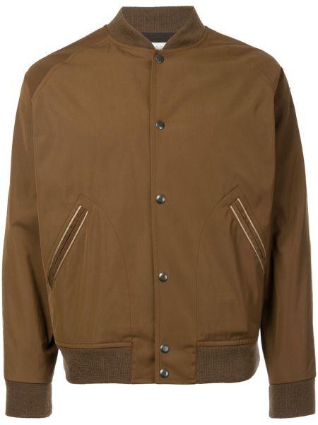 Brązowa kurtka bawełniana Kent & Curwen