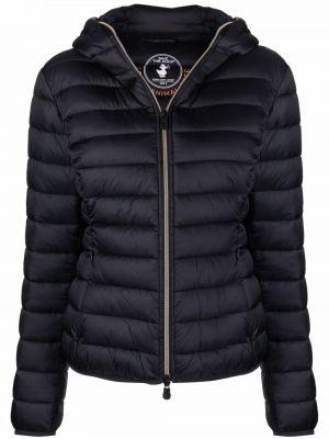 Стеганая куртка - черная Save The Duck