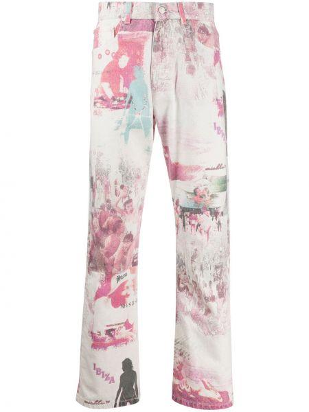 Klasyczne jeansy z kieszeniami dżinsowa Misbhv