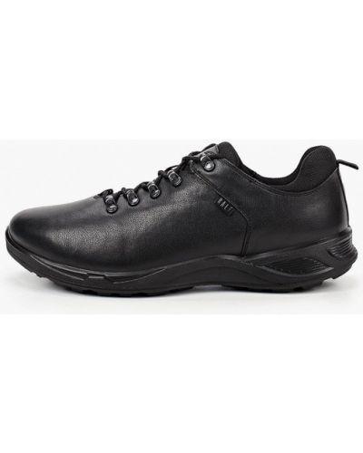 Кожаные черные высокие кроссовки Ralf Ringer