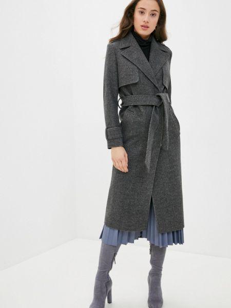 Серое пальто с капюшоном Vivaldi