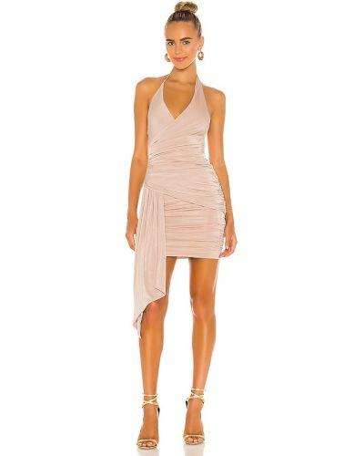 Деловое платье с подкладкой с оборками Misha Collection