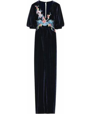 Вечернее платье с вышивкой винтажная Costarellos
