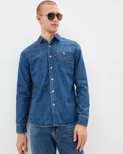 Синяя зимняя рубашка Colin's
