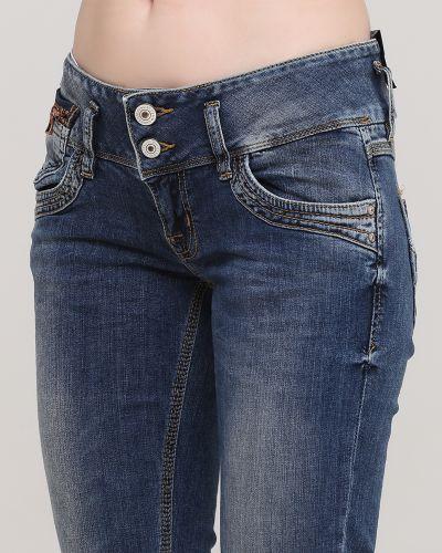 Синие джинсы с карманами Ltb