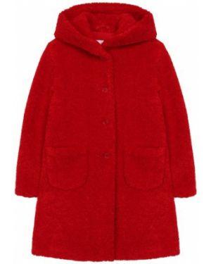 Пальто коричневый глубокий Il Gufo