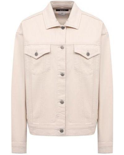 Хлопковая джинсовая куртка - белая Ksubi