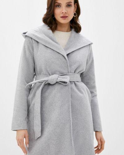 Серое пальто Defacto