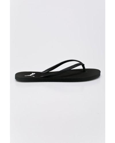 Черные сандалии Puma