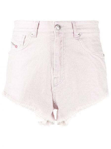 Короткие шорты с отворотами с карманами Diesel