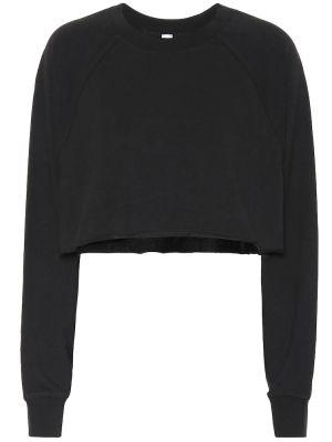 Хлопковый свитер - черный Alo Yoga