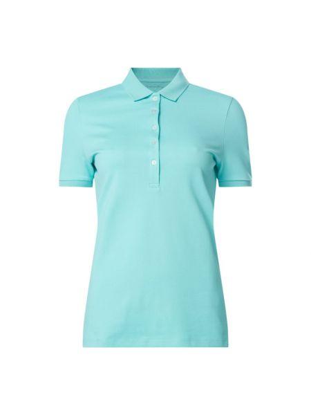 T-shirt bawełniana - turkusowa Christian Berg Women