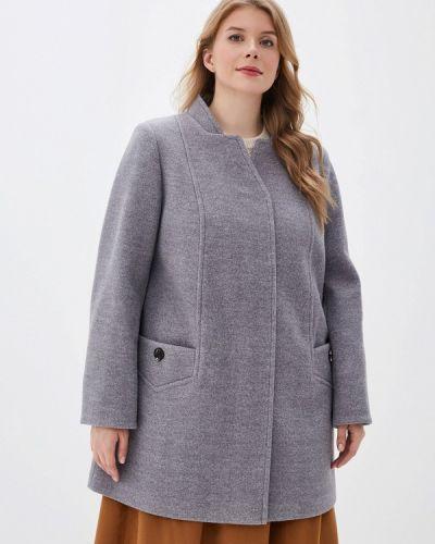 Пальто демисезонное серое симпатика