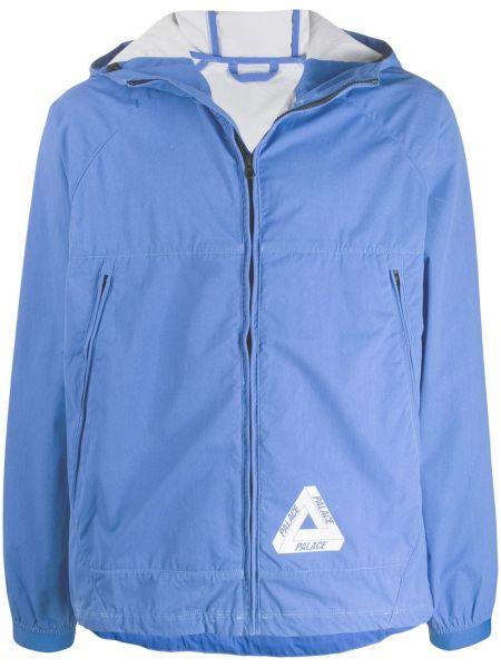 Длинная куртка - синяя Palace
