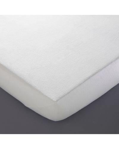 Белый чехол для матраса хлопковый La Redoute Interieurs