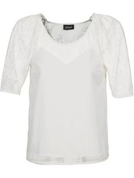 Biała bluzka Kookai