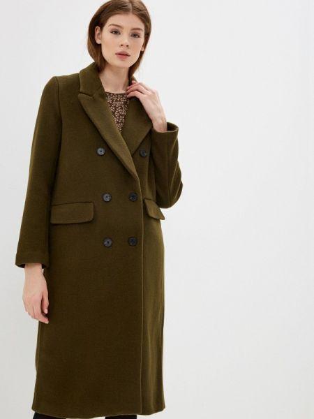 Пальто с капюшоном хаки On Parle De Vous