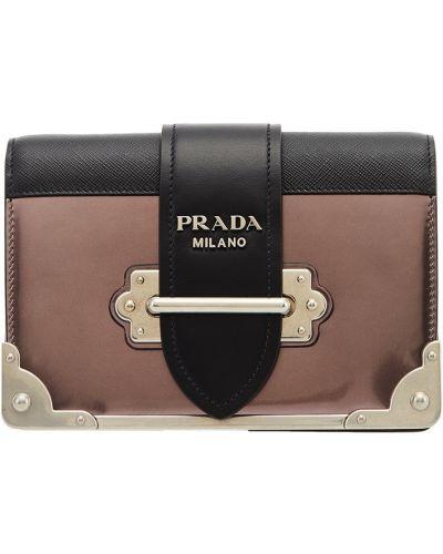 Сумка на цепочке кожаный маленькая Prada