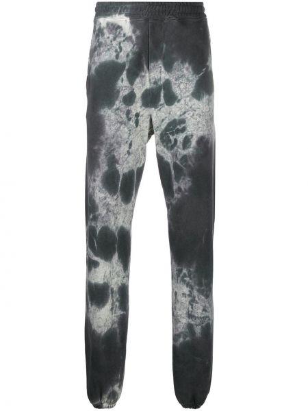 Spodnie bawełniane z printem Buscemi