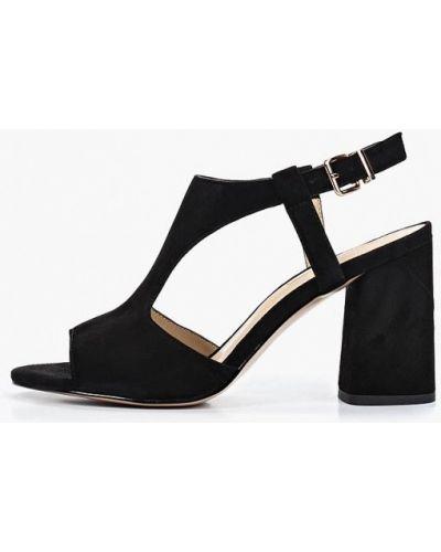 Босоножки черные на каблуке Antonio Biaggi