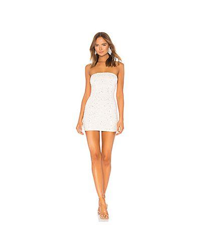 Облегающее платье с декольте в полоску H:ours
