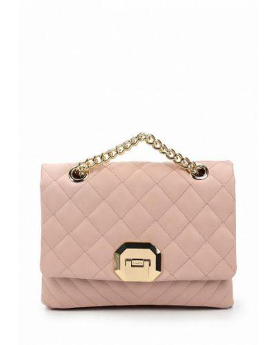 Розовая кожаный сумка Aldo