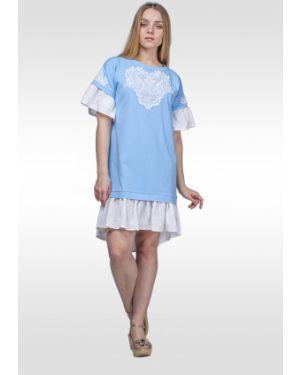Платье с пайетками футболка Lila Classic Style