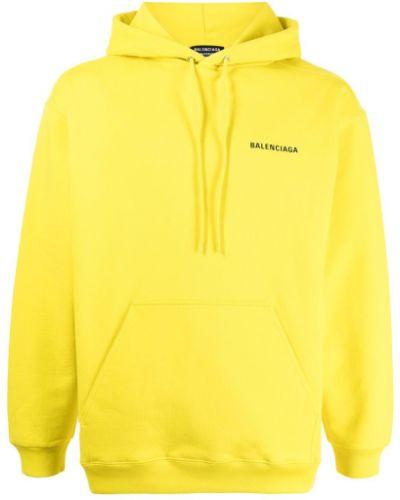 Худи длинное - желтое Balenciaga