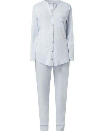 Piżama z długimi rękawami - biała Hanro