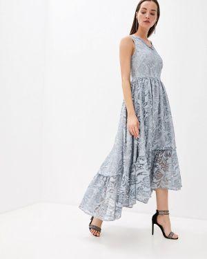 Вечернее платье серое осеннее мадам т