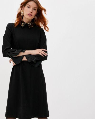 Повседневное черное платье Steffen Schraut