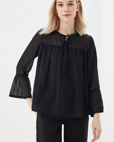 Блузка черная весенний Sweet Miss
