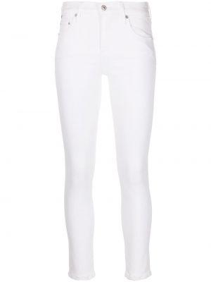 С завышенной талией белые джинсы-скинни на молнии Citizens Of Humanity