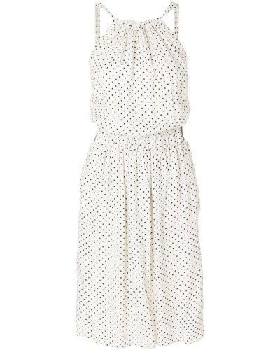Платье миди в горошек Twin-set