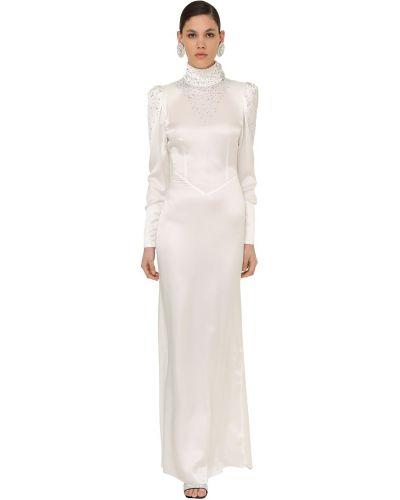 Платье на молнии с длинными рукавами Alessandra Rich
