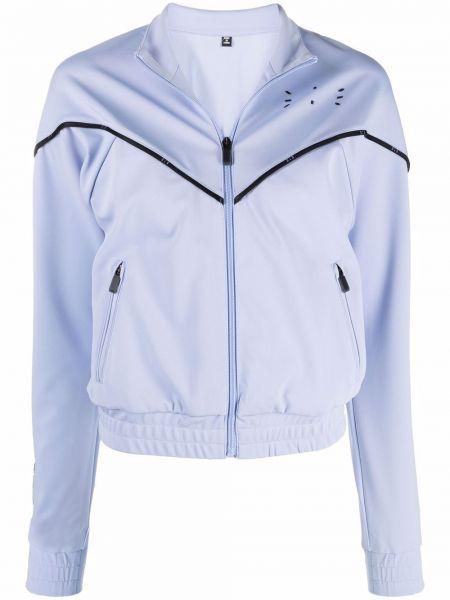 Длинная куртка - фиолетовая Mcq