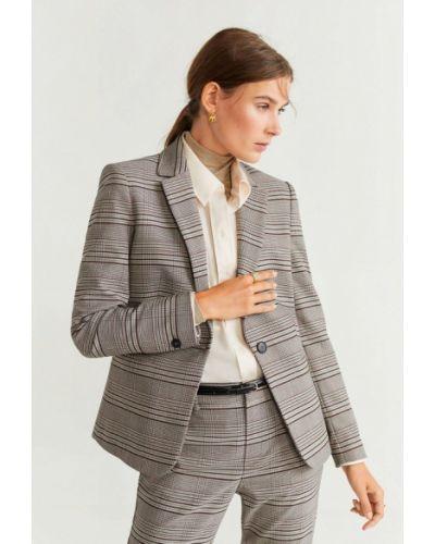Пиджак серый Mango