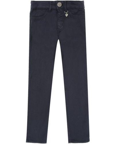 Прямые джинсы синие Armani Junior