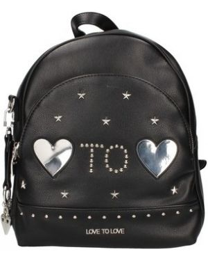 Czarny plecak Love To Love