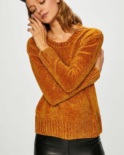 Желтый вязаный свитер Broadway