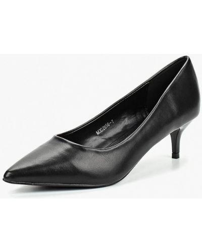 Туфли-лодочки кожаные на каблуке Tulipano