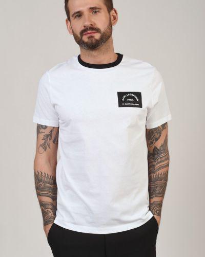 Хлопковая футболка Karl Lagerfeld