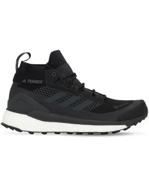 Czarne sneakersy sznurowane koronkowe Adidas Terrex