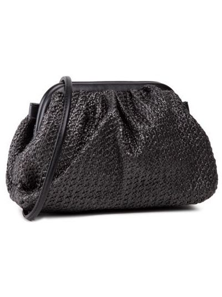 Ciepła czarna torebka vintage Ccc